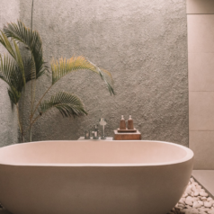 Come arredare un bagno per esterno